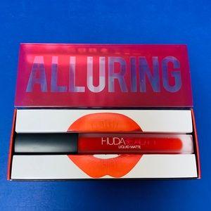 NEW Huda Beauty Liquid Matte Lipstick In Alluring